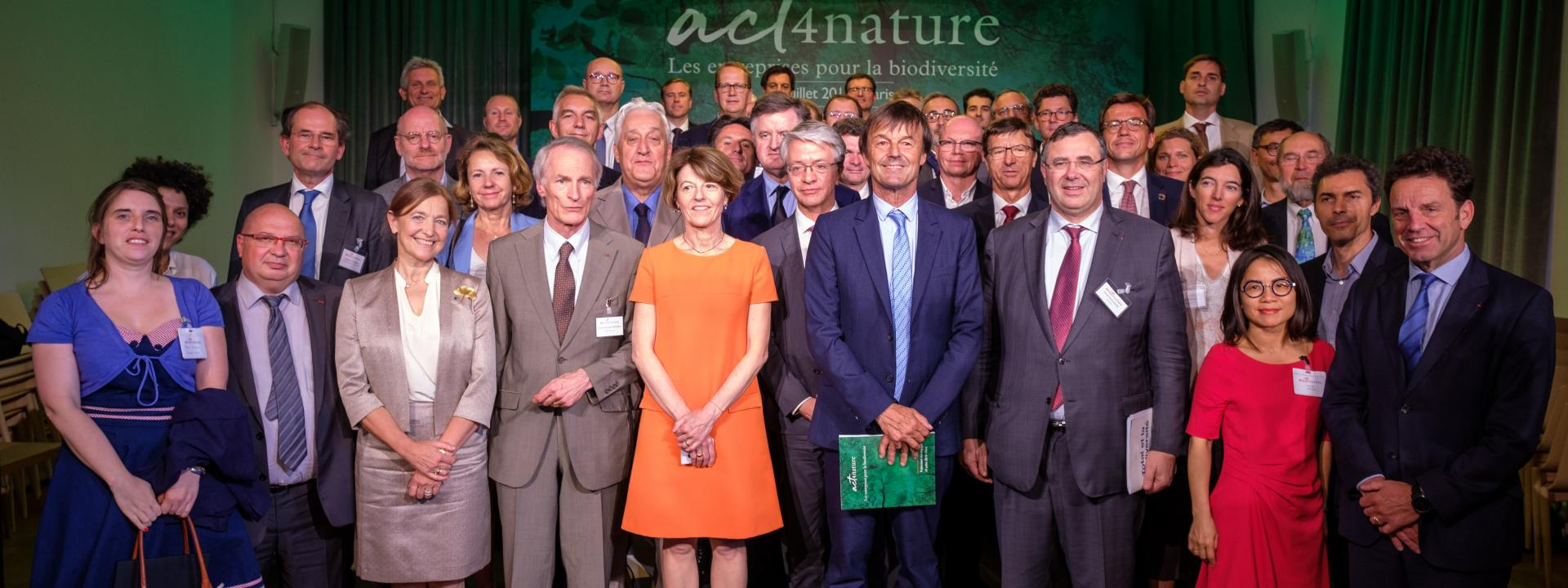 65 dirigeants signent act4nature.